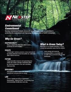 image environmental commitment